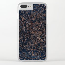 Constellations of the Northern Hemisphere Clear iPhone Case
