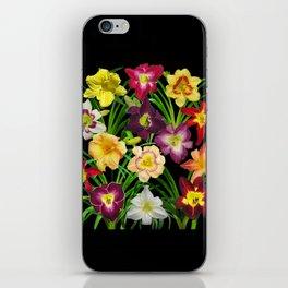 Display of daylilies I iPhone Skin