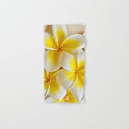 Plumeria Blossoms Hand & Bath Towel
