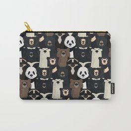 Bears of the world pattern Carry-All Pouch