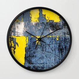 Derelict Metal Wall Clock