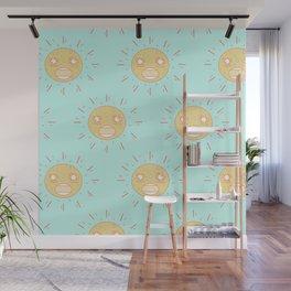 Upset Suns Wall Mural