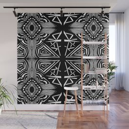 Zentangle #16 Wall Mural