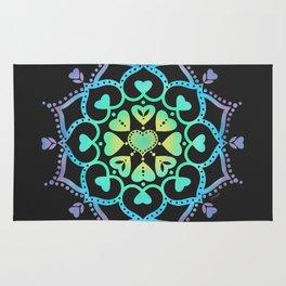 Universal Love Mandala Rug