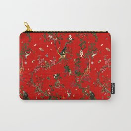 Monkey World Red Carry-All Pouch