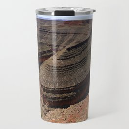 A Meander Of The Goosenecks Travel Mug