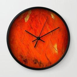 Vintage Orange Cases Wall Clock