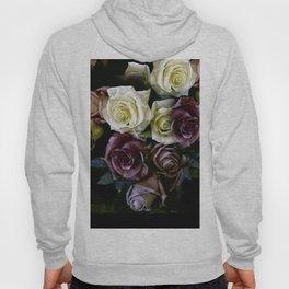 Roses Dark Moody Old Masters Hoody