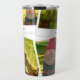 The fate of the gnome Travel Mug