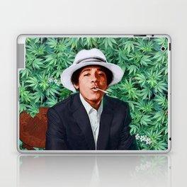 obama portrait smoke Laptop & iPad Skin