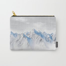 Snow Capped Mountains Carry-All Pouch