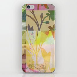 Perennials at Dusk iPhone Skin