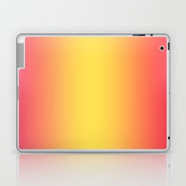 Ombre Anjo Raspberry Gold Gradient Laptop & iPad Skin