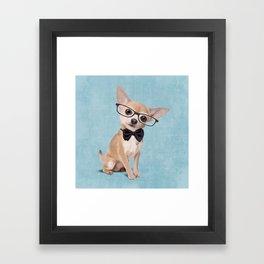 Mr. Chihuahua Framed Art Print