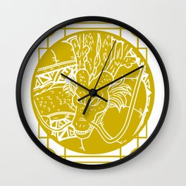Stained Glass - Dragonball - Shenron Wall Clock
