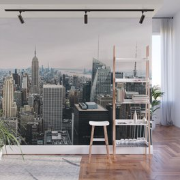 New York skyline from Top of the Rock Wall Mural