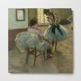 "Edgar Degas ""The dance lesson"" Metal Print"