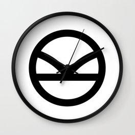 KINGSMAN - Black Logo Wall Clock