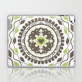 Heart Mandala – Green Laptop & iPad Skin