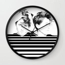 Tegan & Sara Wall Clock