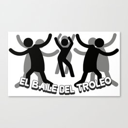Spanish Trolling dance Canvas Print