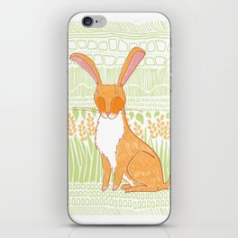 The Hare iPhone Skin