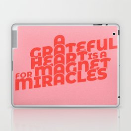 magnet for miracles Laptop & iPad Skin