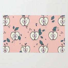 organic apple Rug
