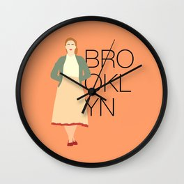 Brooklyn is Saoirse Ronan Wall Clock