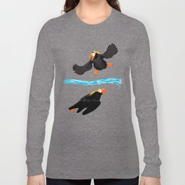 Bering Sea Puffins Long Sleeve T-shirt