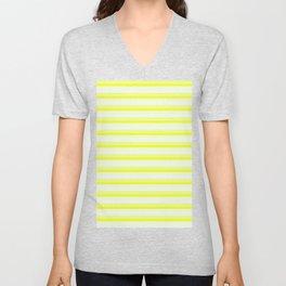 Yellow Stripes Unisex V-Neck