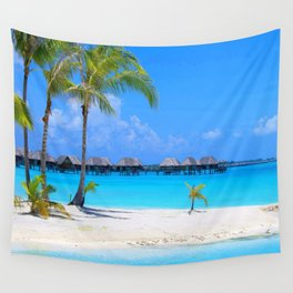 Tropical Island Wall Tapestry