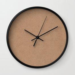 What hides a cardboard box Wall Clock