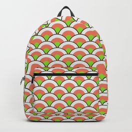 California Roll Sushi Japanese Print Seamless Pattern Backpack