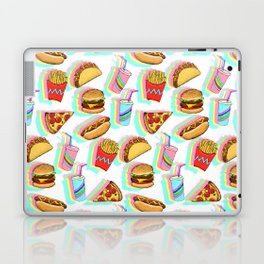 Rainbow Fast Food Laptop & iPad Skin