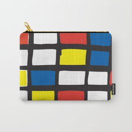 Mondrian Variation 1 Carry-All Pouch