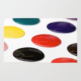 Ceramic colour samples Rug