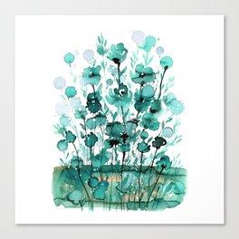 Floral Charm No.1K by Kathy Morton Stanion Canvas Print