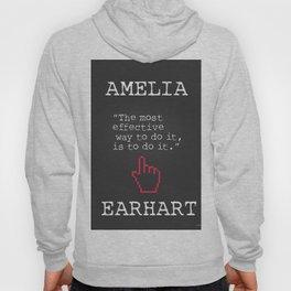 Amelia Earhart quote Hoody