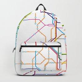 No name transport map Backpack