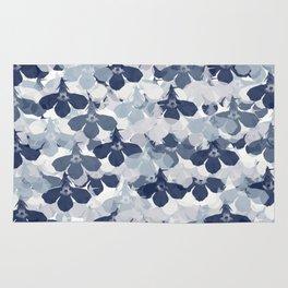 Abstract flower pattern 2 Rug