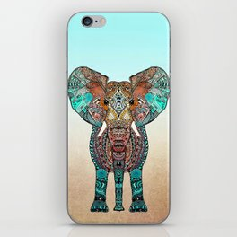 BOHO SUMMER ELEPHANT iPhone Skin