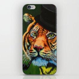 The Tiger Baron iPhone Skin