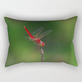 Red Baron (Urothemis aliena) Rectangular Pillow