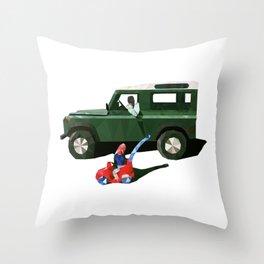 LittleBigLandy Throw Pillow