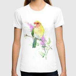 Lovebird and Flower T-shirt