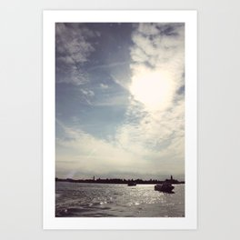 Unusual Venice #5 Art Print