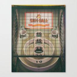 Skee Ball Game Canvas Print