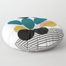 symphony circles Floor Pillow