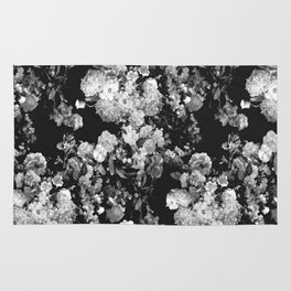 Through The Flowers // Floral Collage Rug